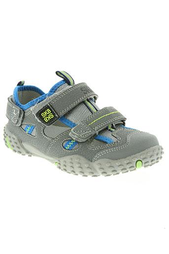 sk8 chaussures garçon de couleur gris