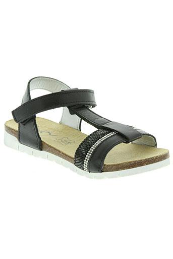 bopy chaussures fille de couleur noir