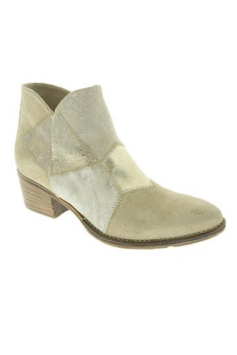 khrio chaussures femme de couleur beige