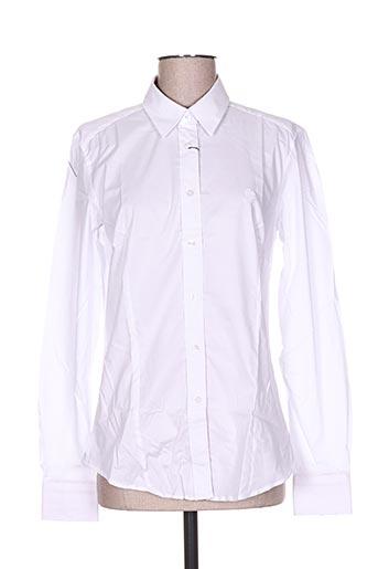 carla kops chemises femme de couleur blanc