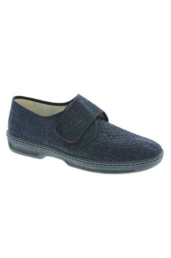 rondinaud chaussures homme de couleur bleu