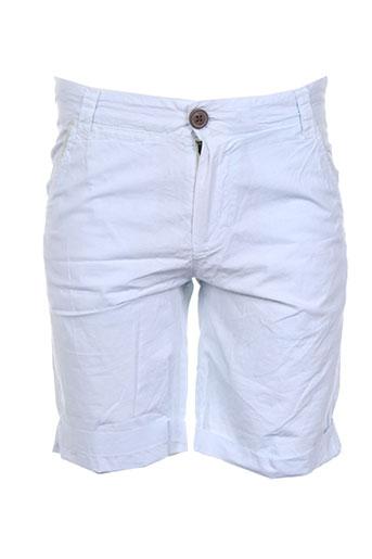 red soul shorts / bermudas garçon de couleur bleu