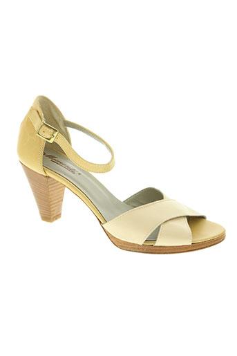 momenti chaussures femme de couleur beige