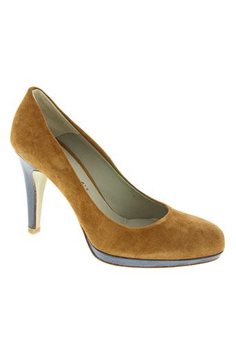 momenti chaussures femme de couleur marron