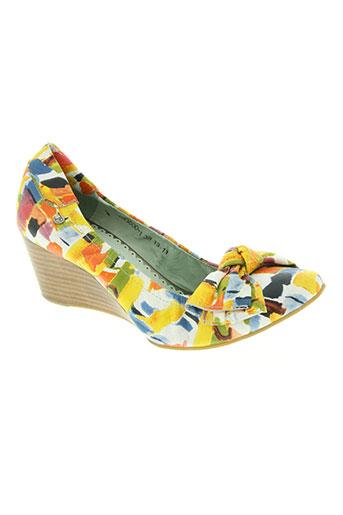 couleur pourpre chaussures femme de couleur jaune