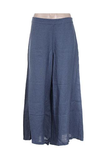 la fee maraboutee pantacourts femme de couleur bleu