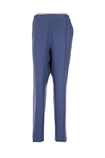 quattro pantalons femme de couleur bleu