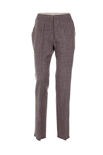 Pantalon chic marron GRIFFON pour femme