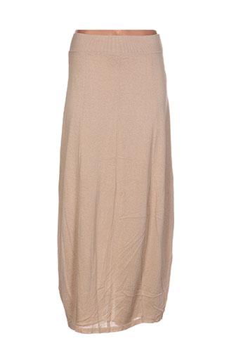 crea concept jupes femme de couleur beige