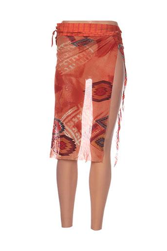 bleu blanc rouge accessoires femme de couleur orange