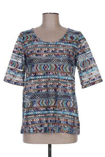 dikton's chemises femme de couleur bleu