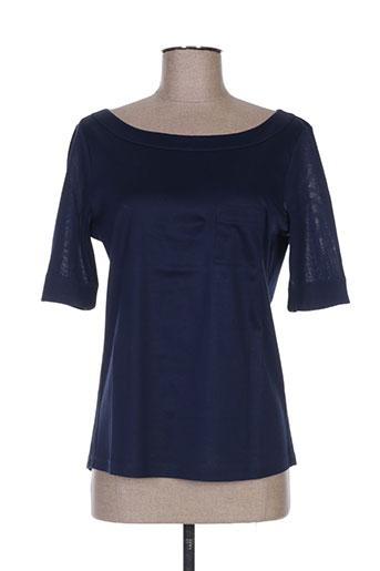 luisa cerano t-shirts femme de couleur bleu