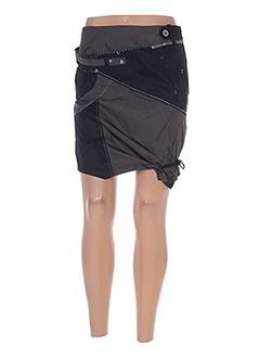 Mini-jupe vert L33 pour femme