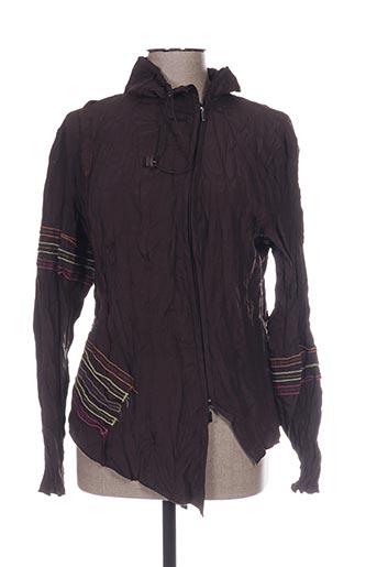 l33 chemises femme de couleur marron