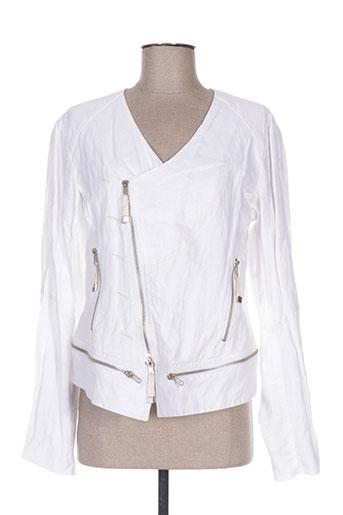 Veste casual blanc ET COMPAGNIE pour femme