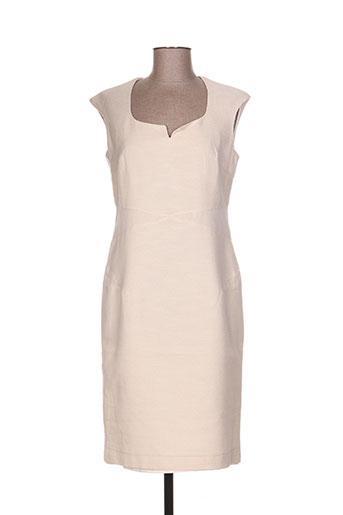 margot fontaine robes femme de couleur beige
