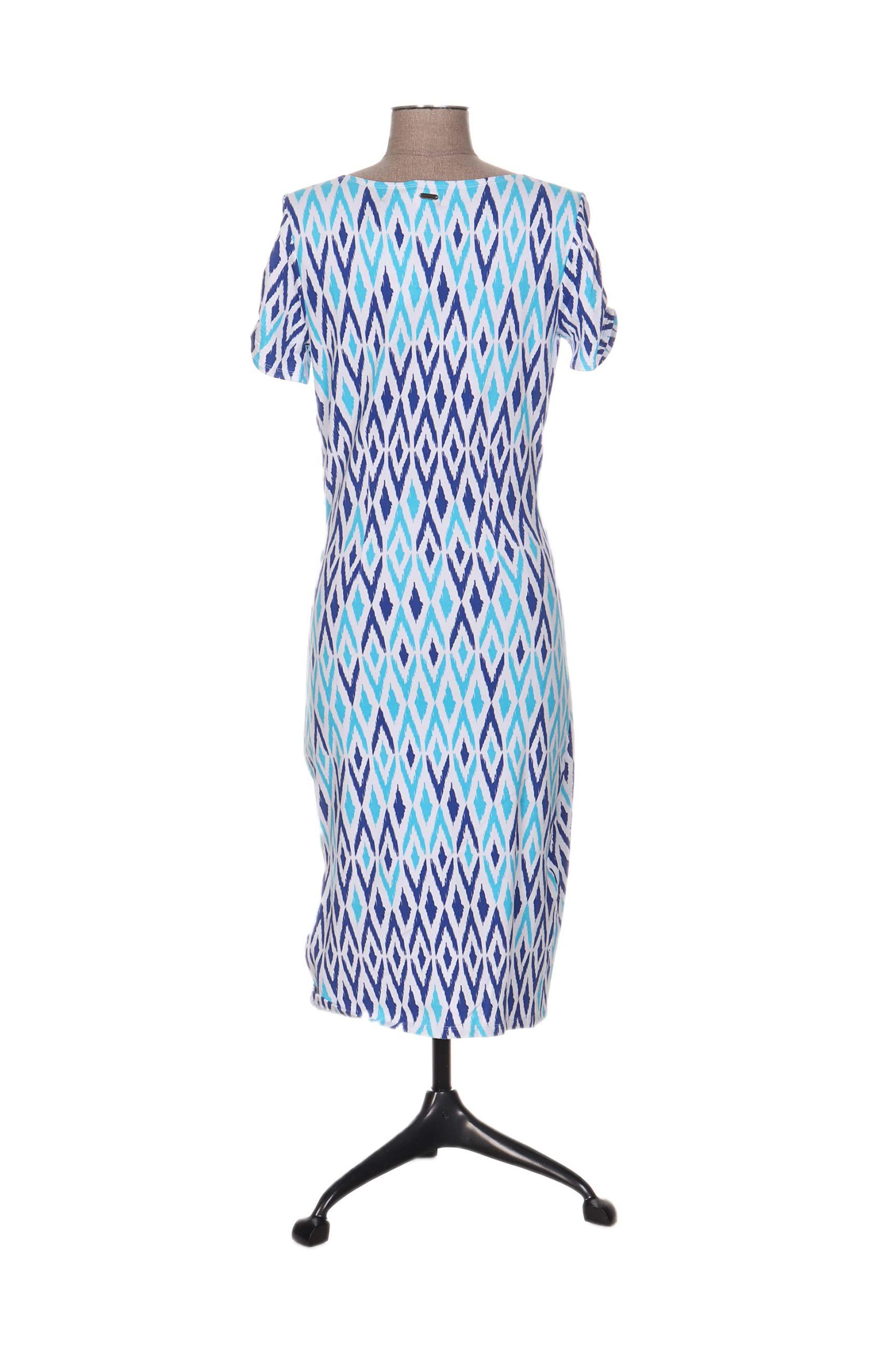 Hatley Robes Mi Longues Femme De Couleur Bleu En Soldes Pas Cher 1205772-bleu00