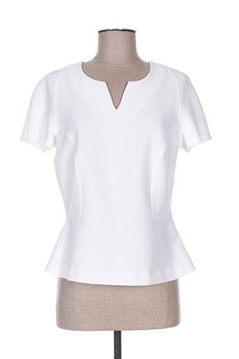 daniel hechter chemises femme de couleur blanc