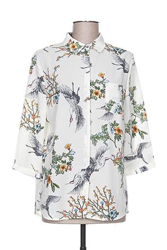 it hippie chemises femme de couleur blanc