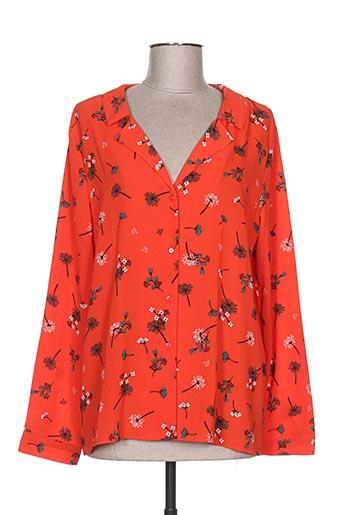 lili EFFI_CHAR_1 lala chemises femme de couleur rouge
