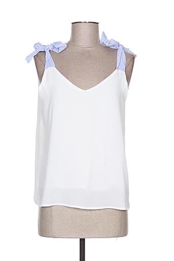 y'coo chemises femme de couleur blanc