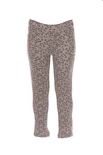 longboard pantalons fille de couleur beige