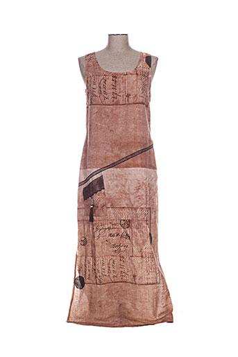 coco menthe robes femme de couleur marron