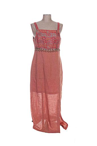 coco menthe robes femme de couleur orange
