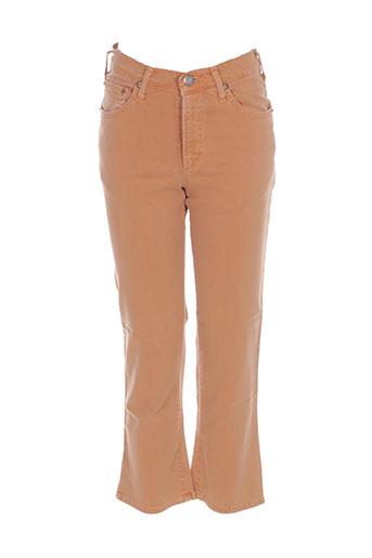 cimarron pantacourts femme de couleur orange