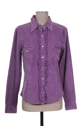 cimarron vestes femme de couleur violet