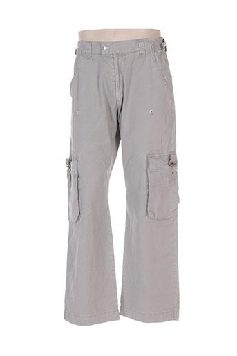 energie pantalons homme de couleur gris