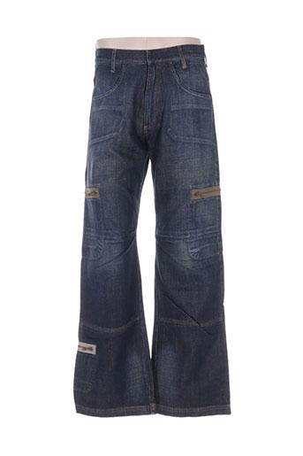 energie jeans homme de couleur bleu