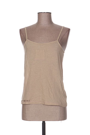 chipie chemises femme de couleur beige