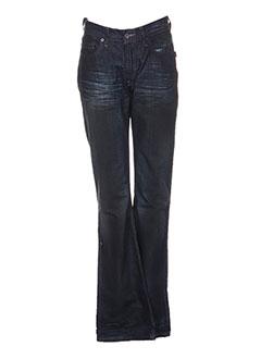 Pantalon casual bleu CHEFDEVILLE pour femme