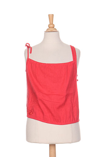 kana beach chemises femme de couleur rouge