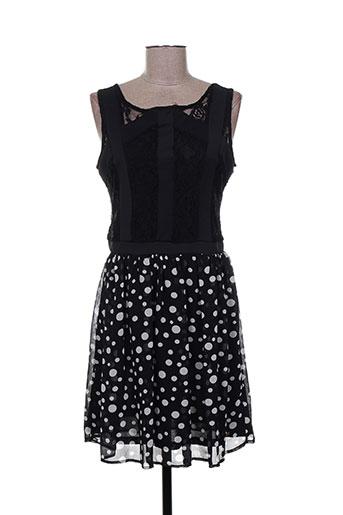 mismash robes femme de couleur noir