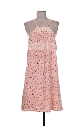 mismash robes femme de couleur rose