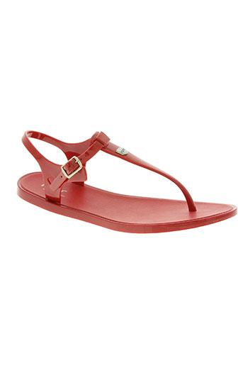igor chaussures femme de couleur rouge