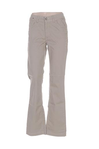 laita pantalons femme de couleur beige