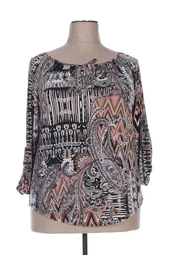fafa mod chemises femme de couleur noir