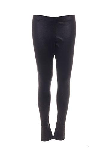 lynn adler pantalons femme de couleur noir