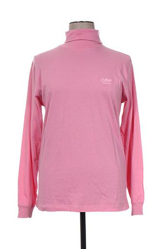 cotton traders t-shirts femme de couleur rose