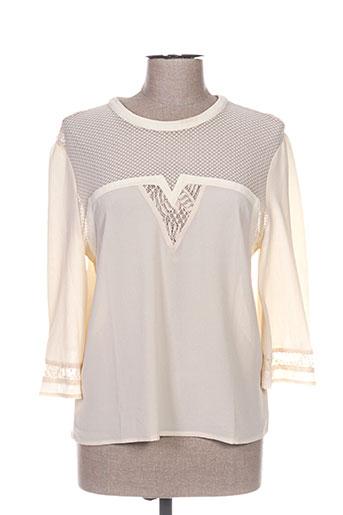 Chemises Femme Orfeo De Beige Couleur dwqqC0