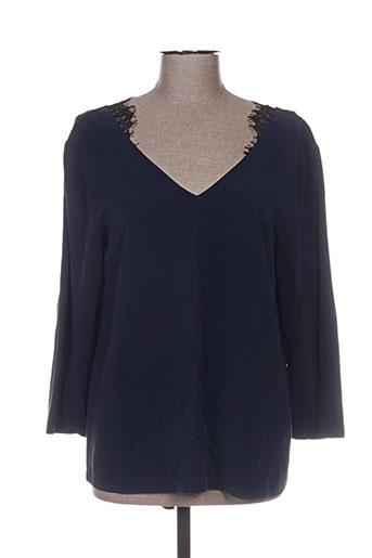 the korner chemises femme de couleur bleu