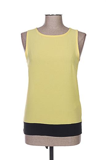 fracomina chemises femme de couleur jaune