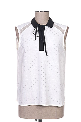 orfeo chemises femme de couleur blanc