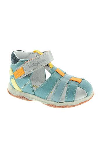 babybotte chaussures garçon de couleur bleu