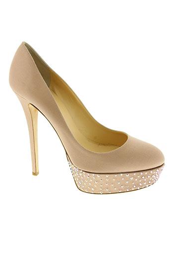 semilla chaussures femme de couleur rose