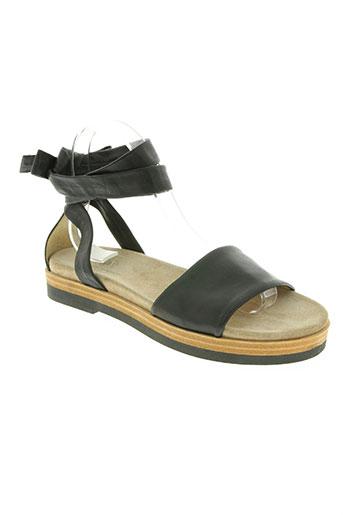 janet sport chaussures femme de couleur noir