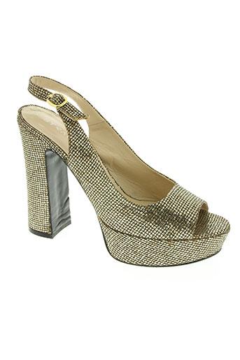 strategia chaussures femme de couleur jaune